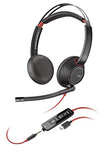 Plantronics Blackwire C5220 Casque Stéréo PC USB-C Stéréo - USB-C