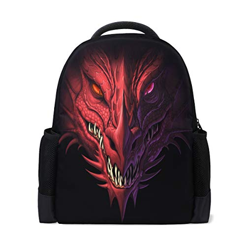 ALAZA Dragon Casual Backpack Waterproof Travel Daypack School Bag