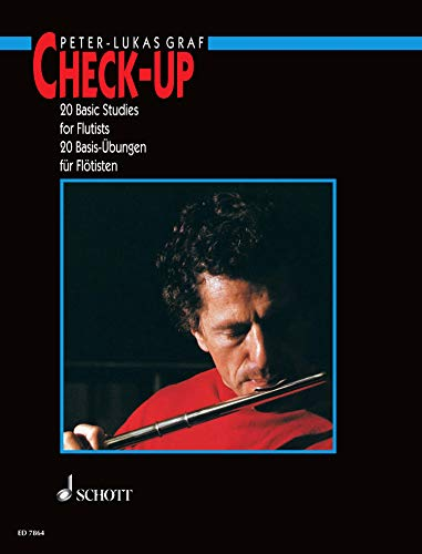 Check-up: 20 Basic Studies for Flutists (English Edition)