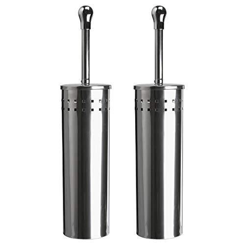 Ikea Baren - Toilettenbürste, Edelstahlbehälter, 2er Set