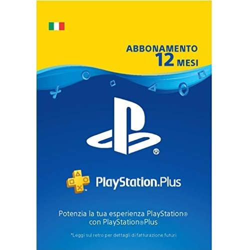 PlayStation Plus Abbonamento 12 Mesi | Codice download per PSN - Account italiano