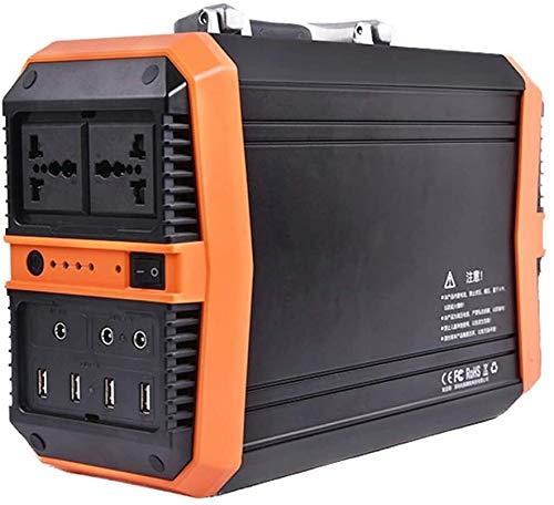 Generador Portátil Generador Inverter Fuente de alimentación de iones de litio de generador solar de potencia portátil de 300WH para la fuente de alimentación de copia de seguridad de camping de emerg