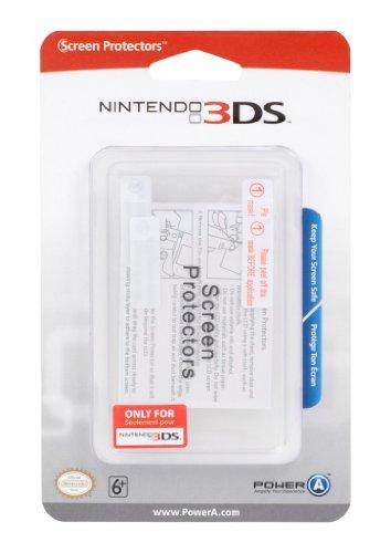 2 écrans de protection pour Nintendo 3DS