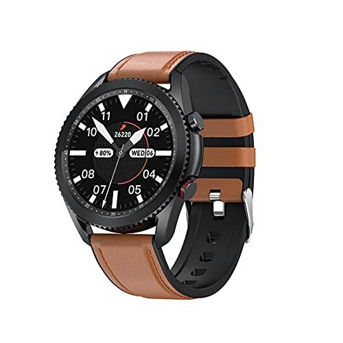 YQCH Smart Watch para teléfonos Android iOS Teléfonos Bluetooth Call Dynamic Heart Rate Monitor Fitness Tracker con podómetro Calorie Contador Contador Control Mostrar Actividad Tracker Sleep Monitor