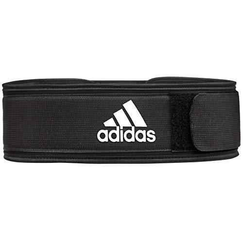 adidas Unisex-Adult Essential Gewichthebergürtel, Schwarz, L