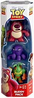 Toy Story Mean Lotso, Stretch and Twitch Buddy Figure 3-Pack