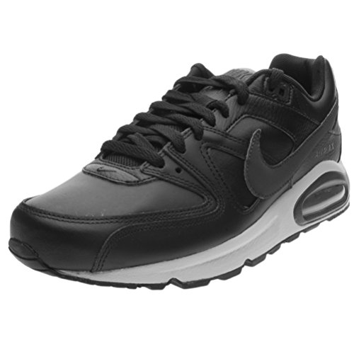 Nike Air Max Command Leather, Scarpe da Ginnastica Basse Uomo, Multicolore (Black/Anthracite/Neutral Grey 001), 43 EU