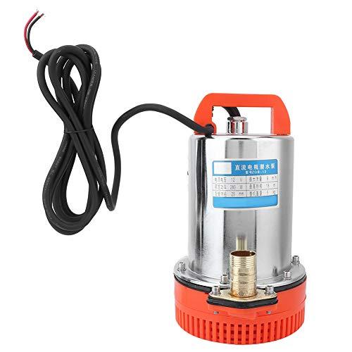 Bomba de agua, fabricada con materiales de primera calidad, alta eficiencia y bajo consumo, bomba de 12 V, para bomba de agua Bomba de agua sumergible