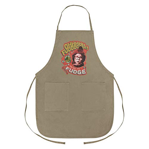 GRAPHICS & MORE A Christmas Story Only I Didn't say Fudge Apron with Pockets
