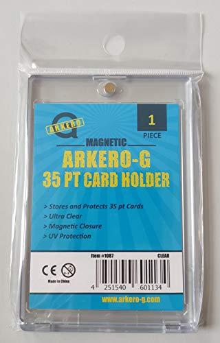 Arkero-G® 35pt Magnetic Card Holder Schutzhüllen / Kartenhalter für Standard & Small Sammel-Karten z.B. Pokemon, MTG Magic, Yugioh