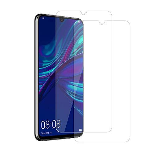 MOSIIKON para Huawei P Smart 2019/Huawei P Smart Plus 2019 Protector de Pantalla,Cristal Templado [9H Dureza] Diseñado para Cristal Templado (2 Pack) Adsorcion Automatica,Instalación más Sencilla