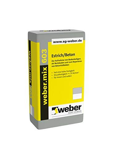 weber.mix 603 Estrich/Beton 25 kg Beton Estrich