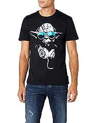 Star Wars DJ Yoda Cool Camiseta para Hombre