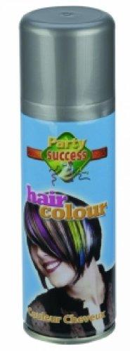 Accessoire deguisement - Bombes cheveux - Bombe cheveux argent