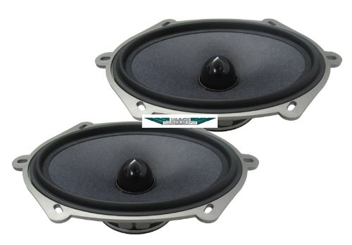 """X-57 - Image Dynamics 5"""" x 7"""" High Definition Mid-Bass Drivers with Composite Nomex Rohacell Cone"""