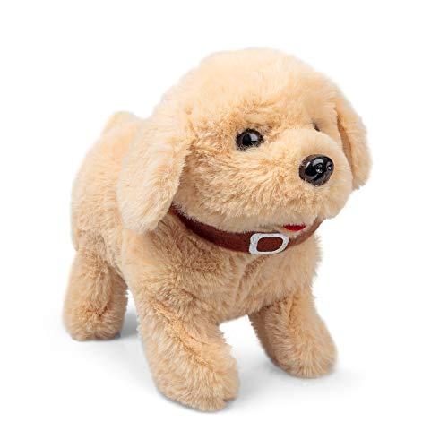 Tobar Animigos Flipping Labrador Puppy Electronic Soft Dog