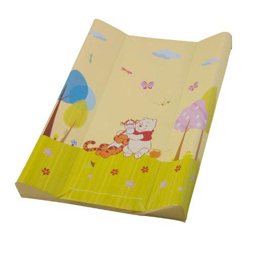 Rotho Babydesign Matelas à Langer Bord Luxe - Sérigraphie - Gamme Winnie l'Ourson - 70 x 49,5 x 6,5 cm