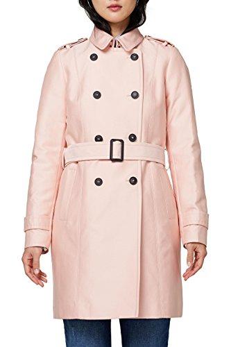 ESPRIT Collection Damen 018EO1G016 Mantel, Rosa (Pastel Pink 695), 38