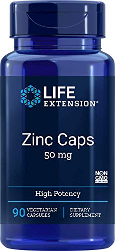 Life Extension Zinc Caps