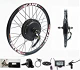 72V 2000W Rear Wheel Motor, 2000W Electric Bike Kit,Electric Bicycle Conversion Kit with Mutifunction SW900 Display,72V 40A Controller, with 7 Speed flywheel (29inch)