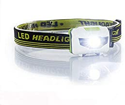Hoofd Torch Mini Krachtige LED Koplamp 4 Mode Koplamp Waterdichte LED Koplamp Hoofd Zaklamp Wit+rood Licht Hoofd lamp 3* AAA