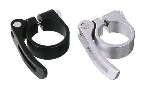 Collier de Selle SCQ-080 avec libération Rapide 34,9 mm Argent