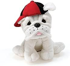 red bulldog plush