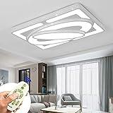 MIWOOHO 78W Dimmerabile LED Plafoniera moderna Lampada da soffitto Corridoio Soggiorno Lampada Camera da letto Cucina Energia Risparmiare luce [Classe di efficienza energetica A++]