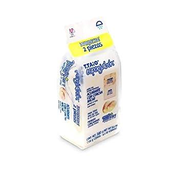 T-TAIO ESPONJABÓN Concha Nacar Pack 2 Piezas  White
