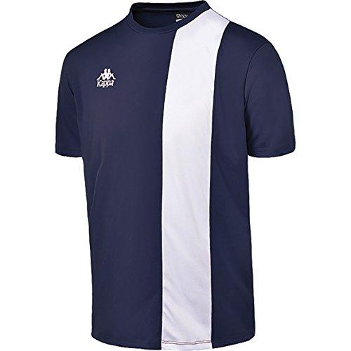 Kappa Kalzium, Herren T-Shirt Blau XL Marineblau/weiß