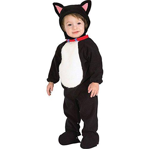 Disfraz de gato para niño gatito, Talla bebé 6-12 meses (Rubie's 81211-I)