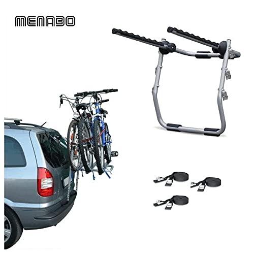 Portabicicletas trasero para coche de 3 bicicletas,...