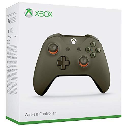 Microsoft - Mando Inalámbrico, Color Verde/Naranja (Xbox One), Bluetooth