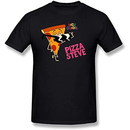 AT Men's Uncle Grandpa UNC Pizza Steve T-Shirt