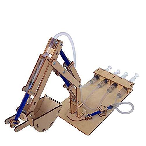 Hydraulische Graafmachines DIY Studenten Technologie Productie Kleine Wetenschap En Onderwijs Speelgoed Wetenschappelijk Experiment Speelgoed Model