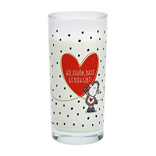 Sheepworld 46230 Trinkglas mit Motivdruck:
