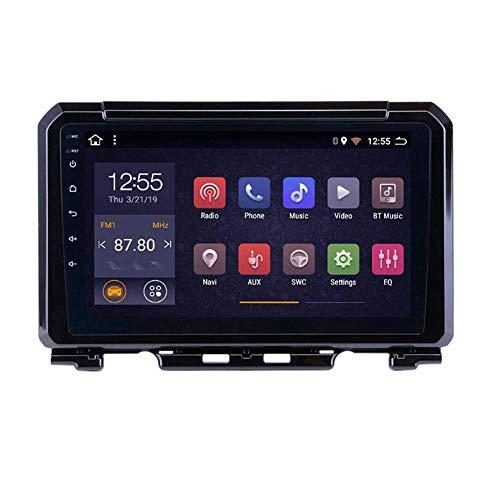 XYWD Lettore Video di Navigazione GPS per autoradio Sistemi multimediale Radio Stereo Automatica Doppio DIN con Bluetooth Android, Touchscreen da 9 Pollici, per Suzuki Jimny 2019