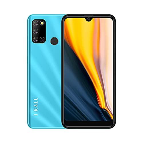 I KALL K525 Smartphone (Blue, 4GB, 64GB, Dual 4G+4G)