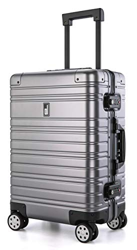 quality luggages All Aluminum Luggage Luxury Entire Hard Metal Case 20