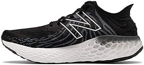 New Balance Men's Fresh Foam 1080 V11 Running Shoe, Black/Thunder, 9.5 X-Wide