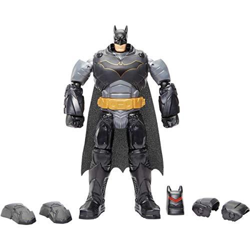 Dc Batman Missions Figura de Acción Batman con Armadura y Máscara de Quita y Pon de 30 cm (Mattel GCK65)