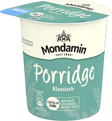 Mondamin Snack Becher Porridge, 8er Pack (8 x 70 g)