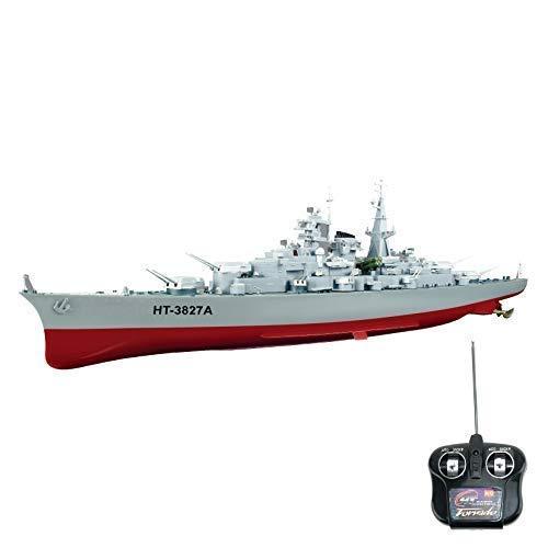 efaso 40 MHz RC Boot Kriegsschiff HT-3827A - 1:360 Schlachtschiff Bismarck