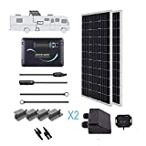 Renogy 200 Watts 12 Volts Monocrystallin Panel Solar RV Kit