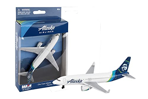 Daron Alaska Airlines Single Plane Vehicle