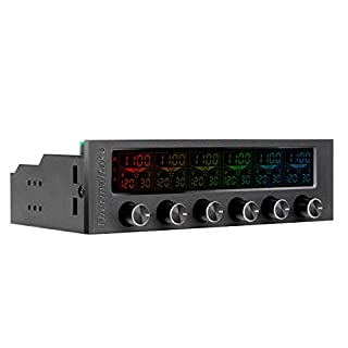Thermaltake Commander F6 - Ventilador para Caja de Ordenador, Color Negro (B01A9HL5TI)   Amazon price tracker / tracking, Amazon price history charts, Amazon price watches, Amazon price drop alerts