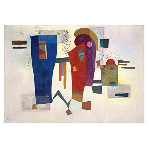 Art WASSILY KANDINSKY abstracte kunst canvas schilderij muurkunst voor woonkamer slaapkamer moderne decoratieve afbeeldingen 70x105cm