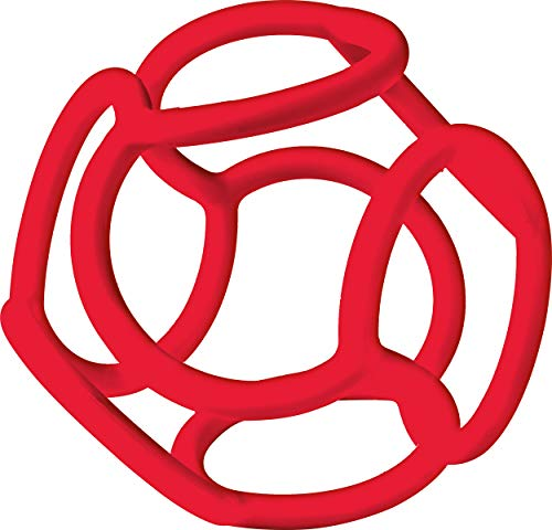 Ravensburger ministeps 4148 baliba - Flexibler Ball, Greifling und Beißring - Baby Spielzeug ab 0 Monate - rot