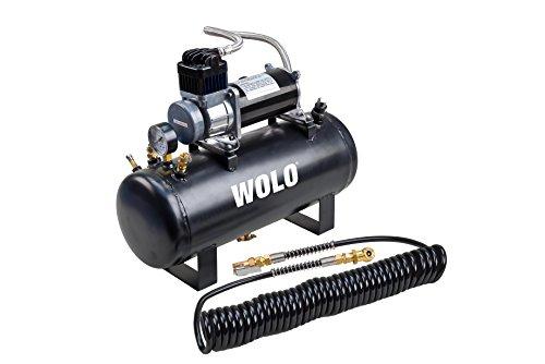 Wolo (858) Tornado Heavy-Duty Compressor with 2.5 Gallon Capacity Tank