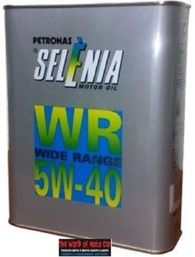 Selenia Motorenöl 2Kanister zu 2lt Petronas WR Wide Range für Diesel 5W-40